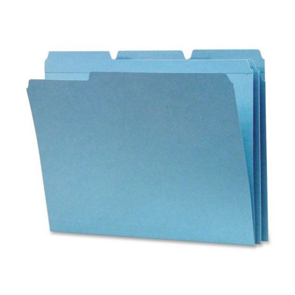 Sparco Yellow Colored File Folders