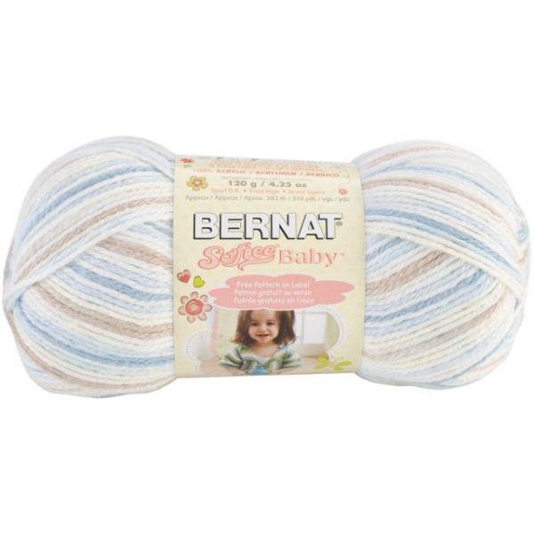 Bernat Softee Baby Yarn - Little Boy Blue