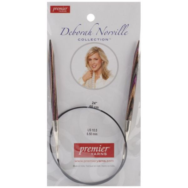 Deborah Norville Fixed Circular Knitting Needles 24""