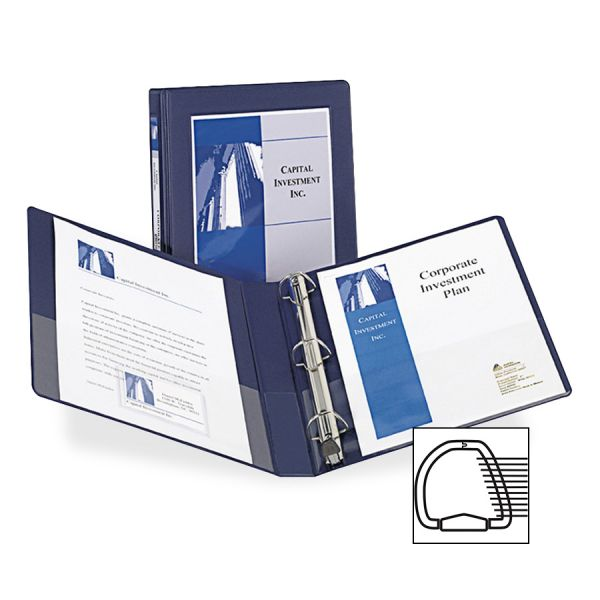 "Avery Framed 1"" 3-Ring View Binder"