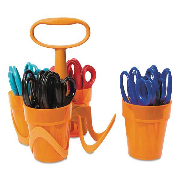 "Fiskars Scissors, 5"" Length, 1 3/5"" Cut, Classpack, Pointed Tip, Assorted"