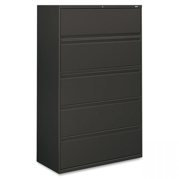 HON 800 Series Full-Pull 5 Drawer Lateral File Cabinet