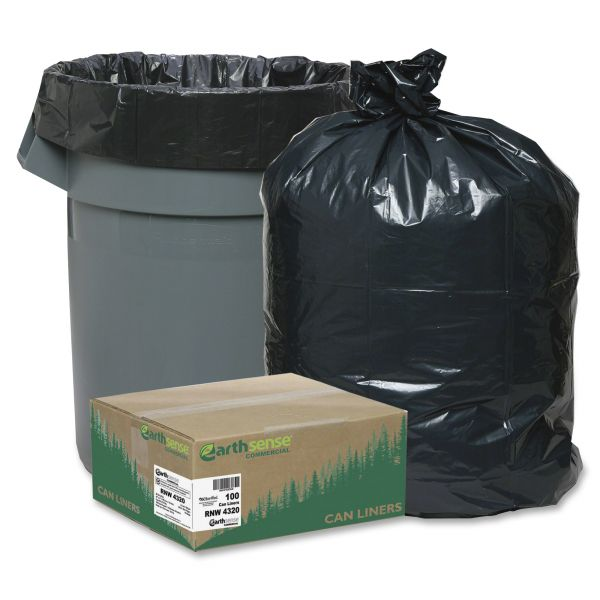Earthsense Recycled 56 Gallon Trash Bags