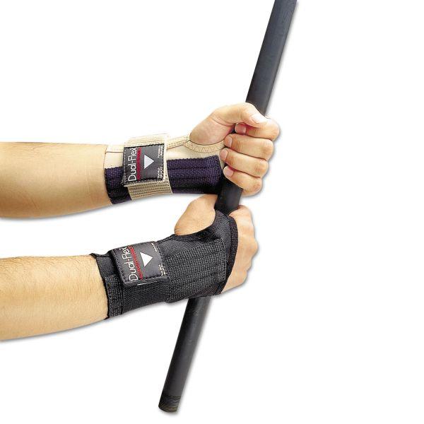 Allegro Dual-Flex Wrist Supports, Large, Nylon, Black