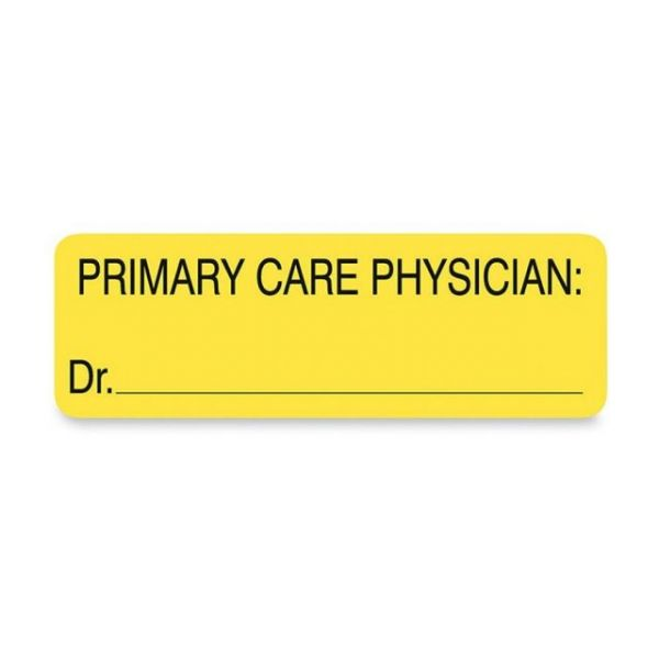 Tabbies PRIMARY CARE PHYSICIAN Patient Info Labels