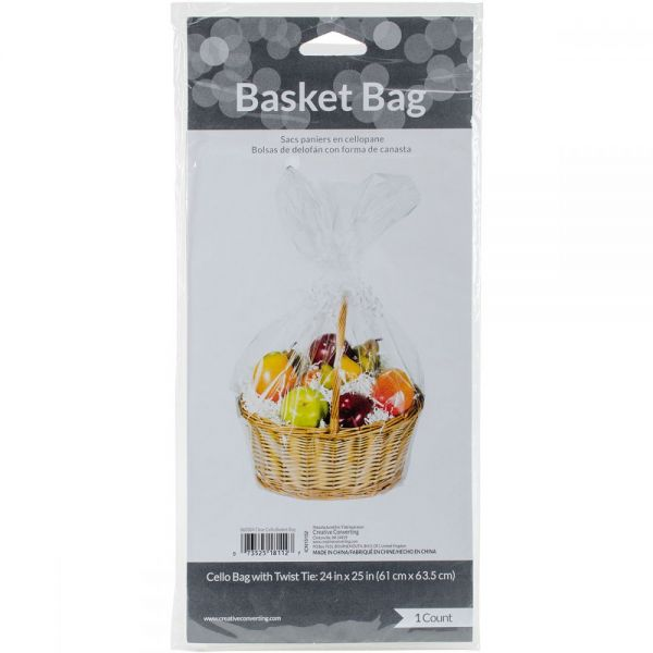 Cellophane Basket Bag