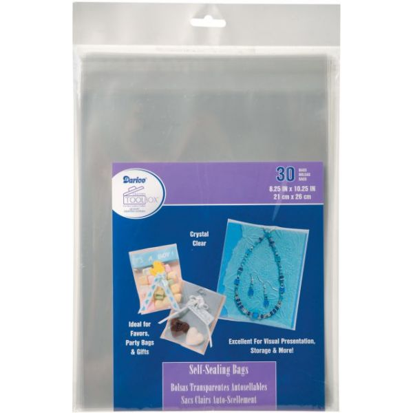 Darice Self Sealing Bags