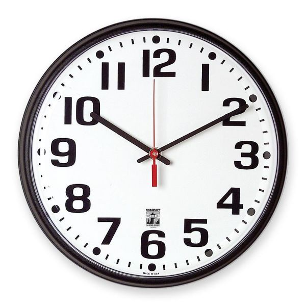SkilCraft Self-Set Wall Clock