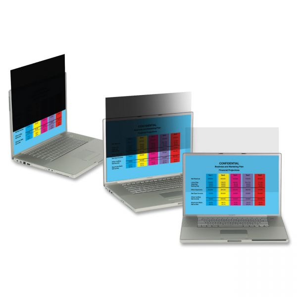 """3M PF12.1 Privacy Filter for Laptop 12.1"""" Clear"""