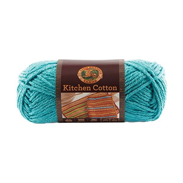Lion Brand Kitchen Cotton Yarn - Tropic Breeze