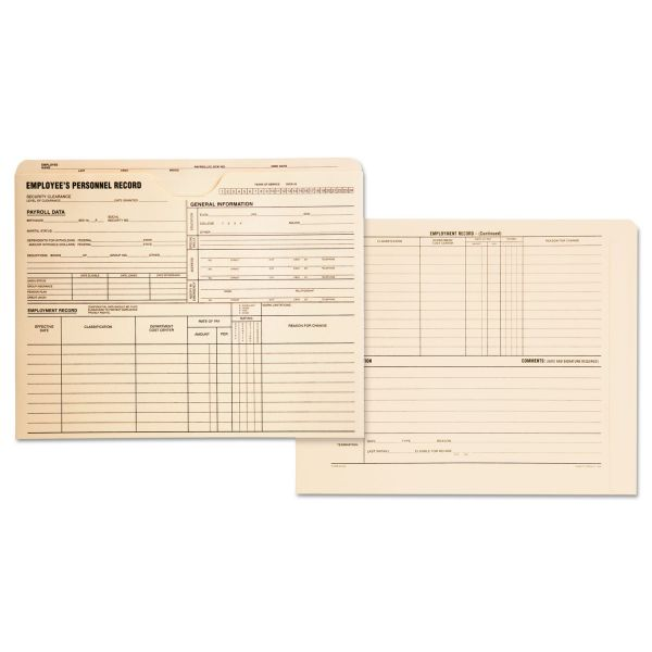 Quality Park Employee's Personnel Record Files