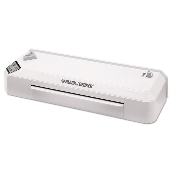 Black & Decker 3-Setting Flash Thermal Laminator