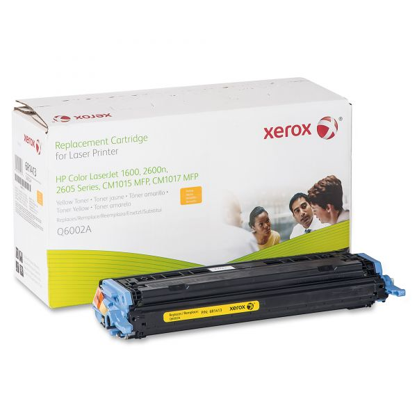 Xerox Remanufactured HP Q6002A Yellow Toner Cartridge