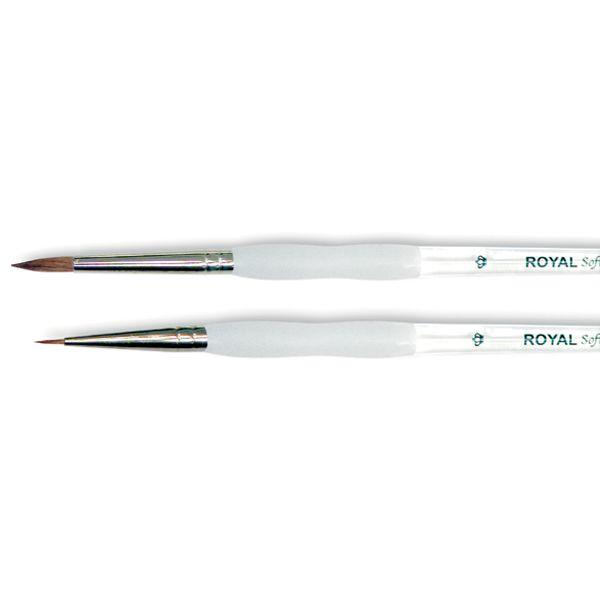 Soft-Grip Pure Sable Round Detail Brush