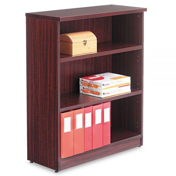 Alera Valencia Series 3-Shelf Laminate Bookcase