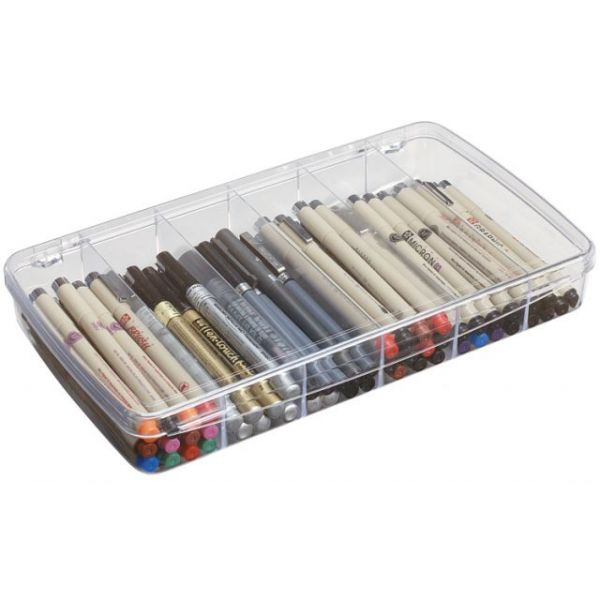 ArtBin Prism 6-Compartment Storage Box