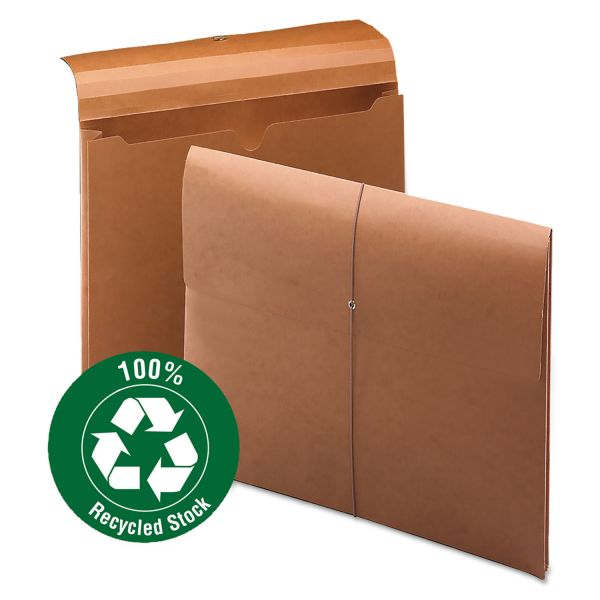 Smead 100 Pct Recycled Redrope Wallet
