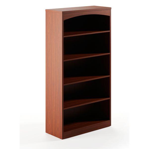 Mayline Brighton Series 5-Shelf Bookcase