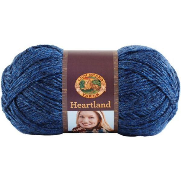 Lion Brand Heartland Yarn - Olympic
