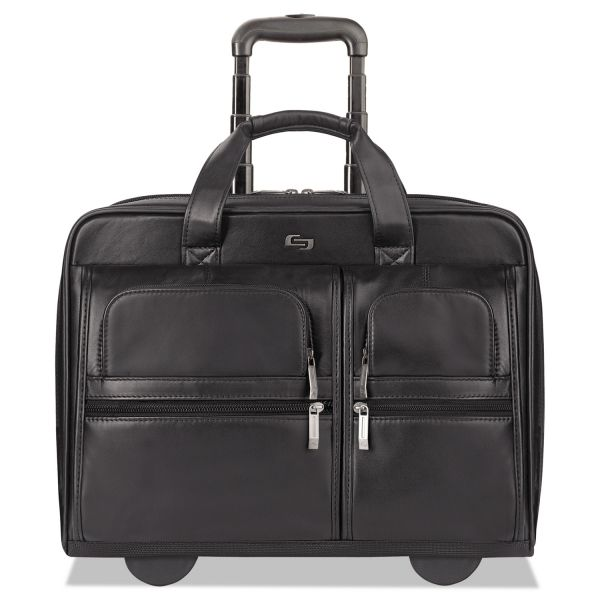 "Solo Classic Carrying Case for 15.6"" Notebook - Black"