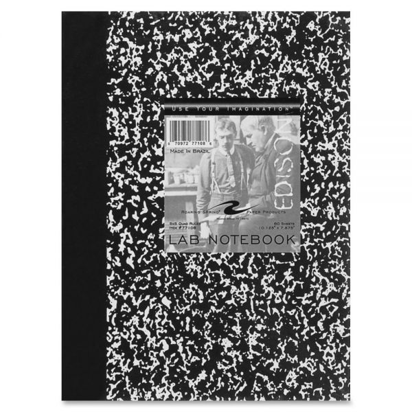 Roaring Spring Black Marble Lab Book