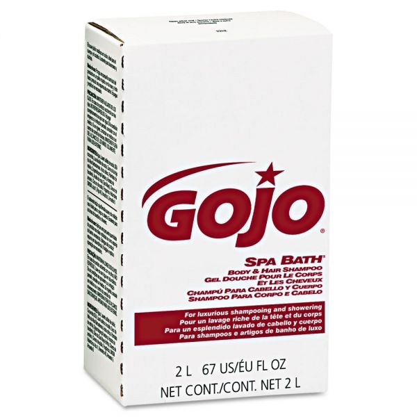 GOJO Spa Bath Body & Hair Shampoo Refills
