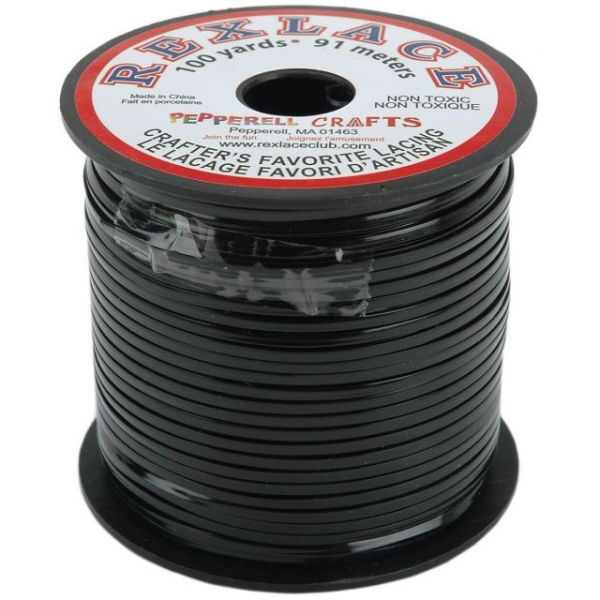 "Rexlace Plastic Lacing .0938""X100yd"