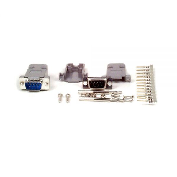 StarTech.com DB9 Serial Male D-Sub Crimp Connector