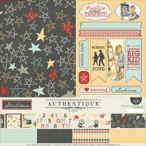 "Authentique Collection Kit 12""X12"""