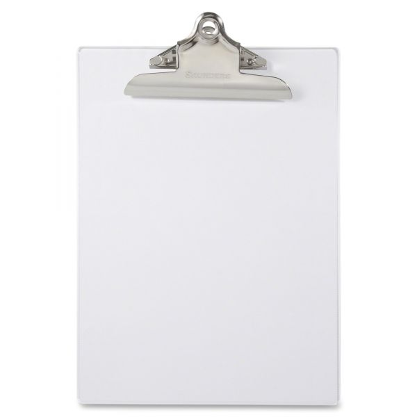 Saunders Clear Plastic Clipboard