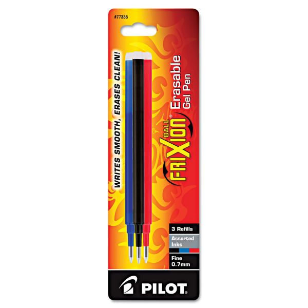 Pilot FriXion Erasable Gel Ink Pen Refills