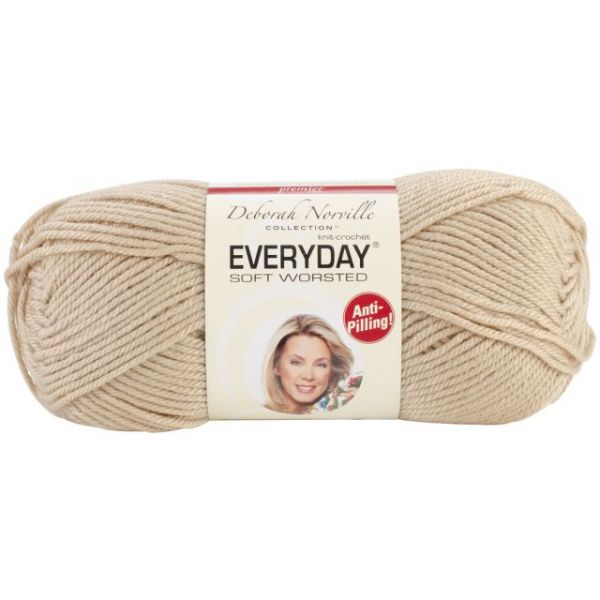 Deborah Norville Collection Everyday Soft Worsted Yarn - Cappuccino