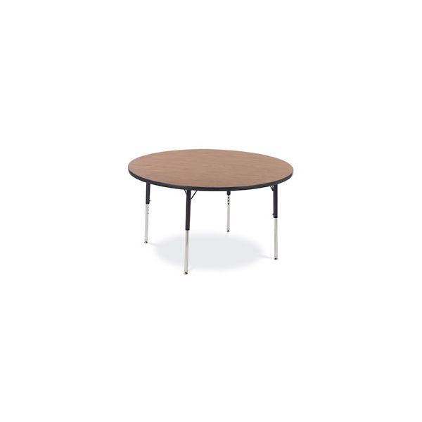 Virco 4000 Series Height Adjustable Round Activity Table