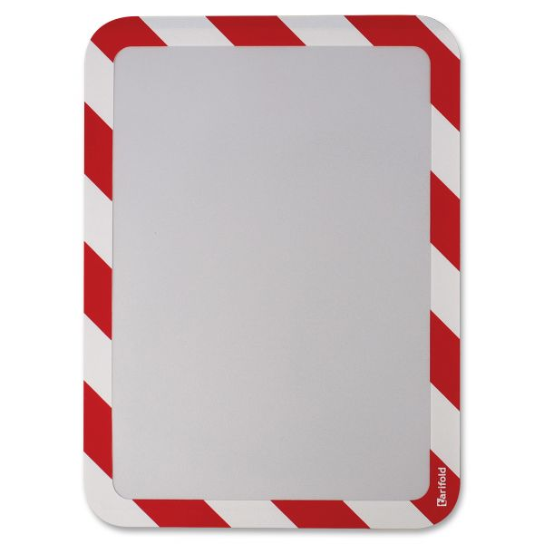 Tarifold, Inc. High Visibility Safety Self Adhesive Sign Holders
