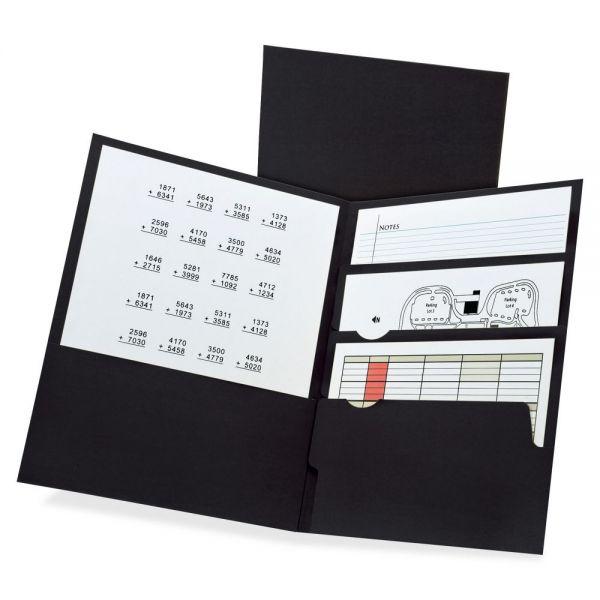 TOPS Divide-It-Up Four-Pocket Folders