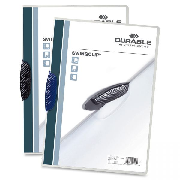Durable Swingclip Clear Front Report Covers