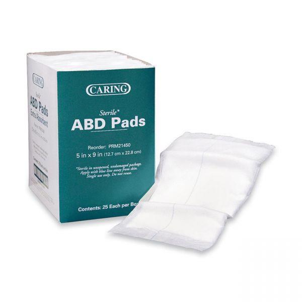 Caring Sterile ABD Pads