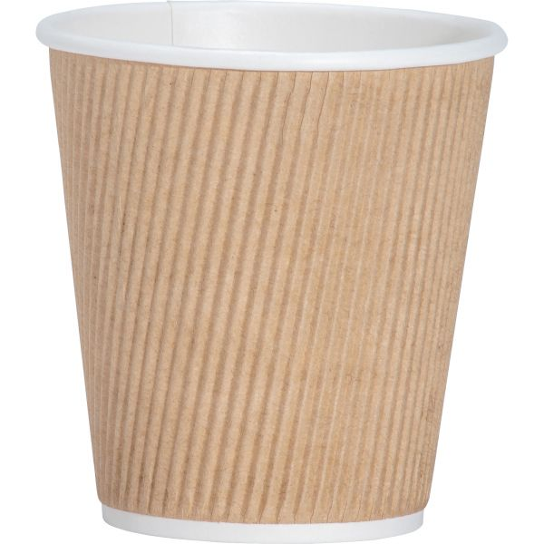 Genuine Joe Ripple 10 oz Coffee Cups