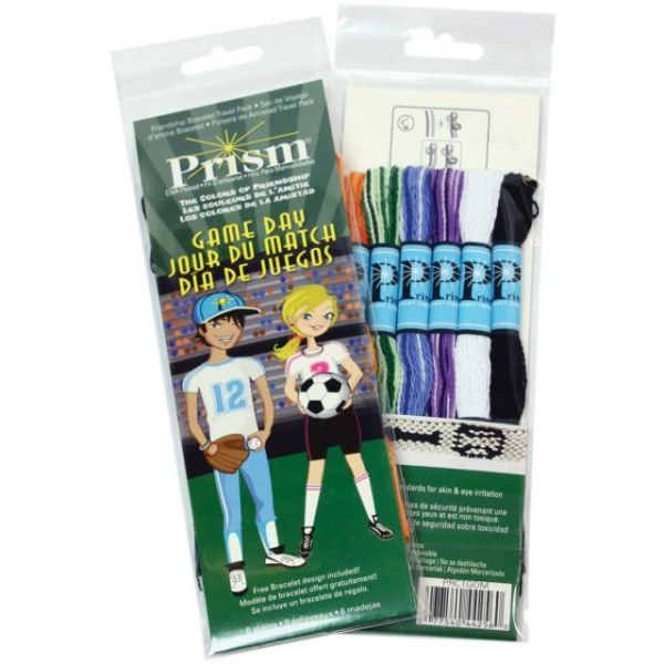 Prism 6-Strand Mini Floss Pack 6/Pkg