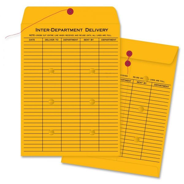Business Source 2-Sided Interdepartment Envelopes