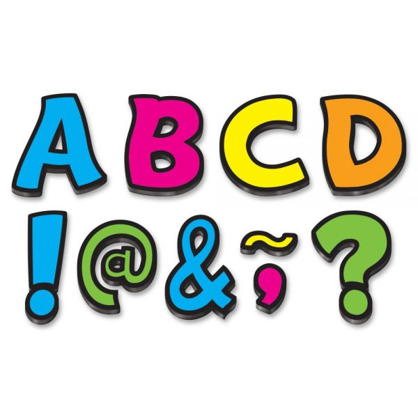 Teacher Created Resources Funtastic Font Magnetic Letters