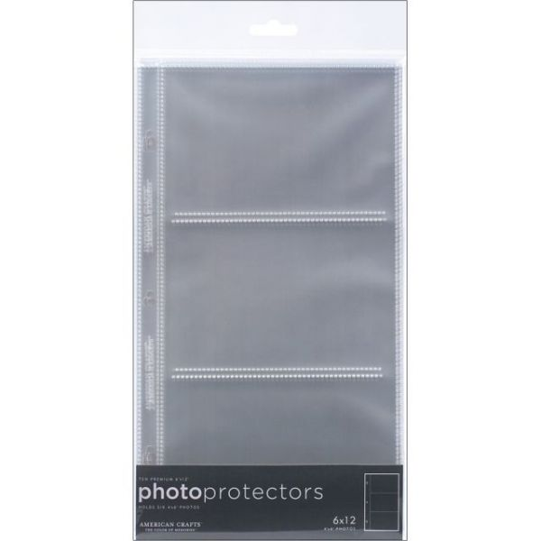 "Page Protectors Side-Loading 6""X12"" 10/Pkg"
