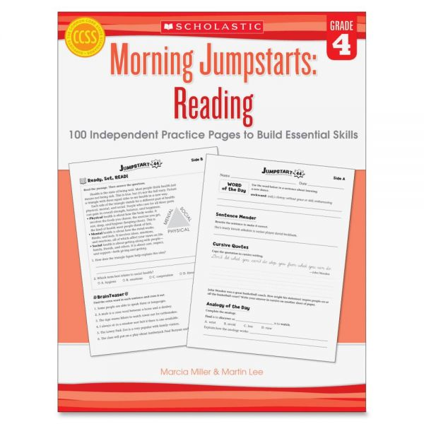Scholastic Grade 4 Jump Starts Reading Book Education Printed Book by Martin Lee,Marcia Miller
