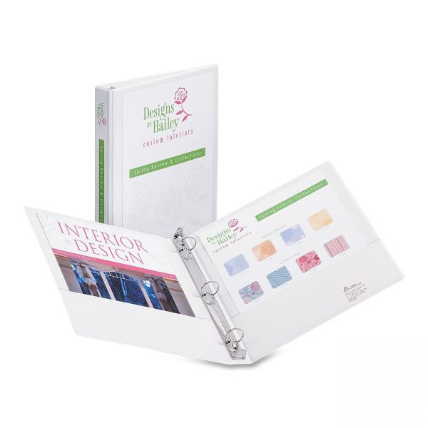 "Avery Showcase Reference 1"" 3-Ring View Binder"