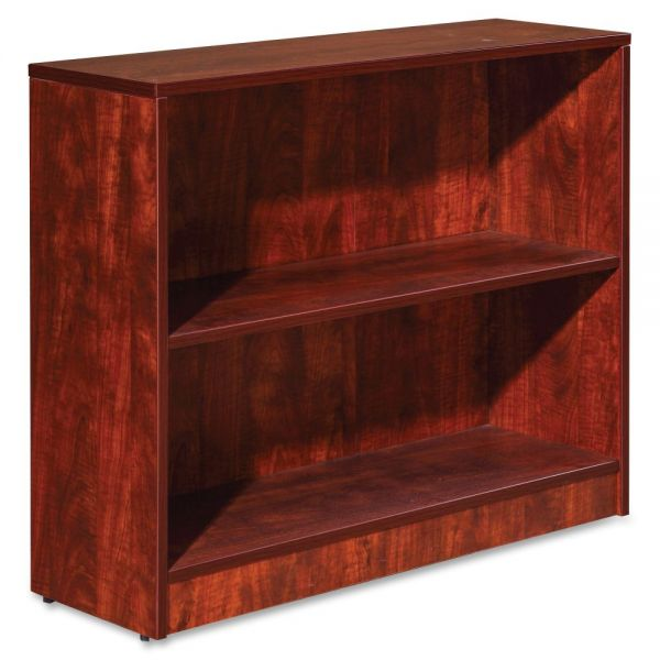 Lorell Essentials 2-Shelf Bookcase