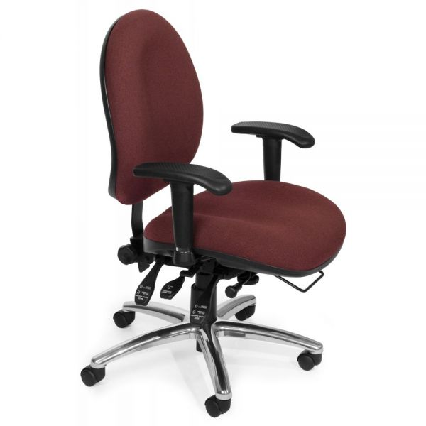 OFM 24-Hour Ergonomic Task Chair with Arms