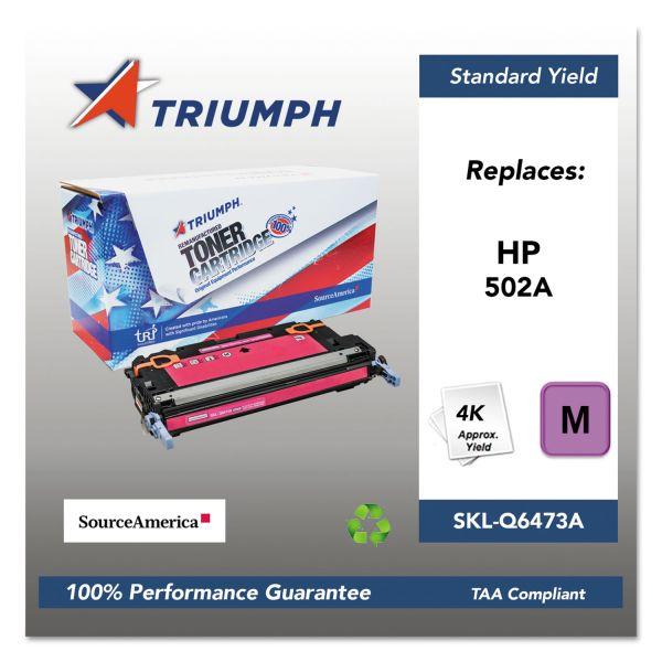 Triumph 751000NSH0298 Remanufactured Q6473A (502A) Toner, Magenta