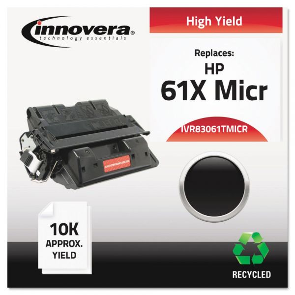 Innovera Remanufactured HP 61X (C8061A) Micr Toner Cartridge