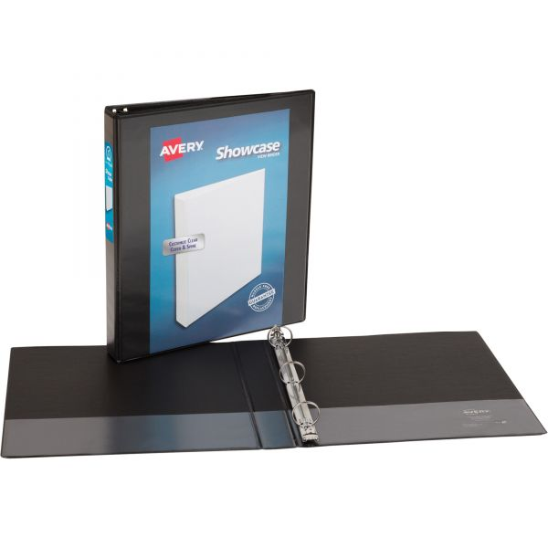 """Avery Showcase Reference 1"""" 3-Ring View Binder"""