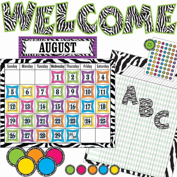 Teacher Created Resources Print Accents Board Set